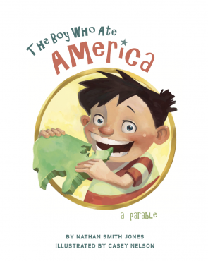 book cover - The Boy Who Ate America