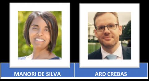 Manori de Silva President - Ard Crebas Vice President