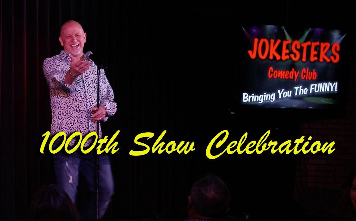 Don Barnhart Celebrates Jokesters Comedy Club's 1000th Show!