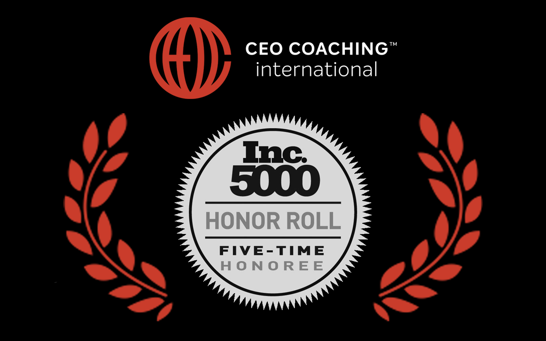 CEO Coaching International On the Inc 5000 List for Fifth Year
