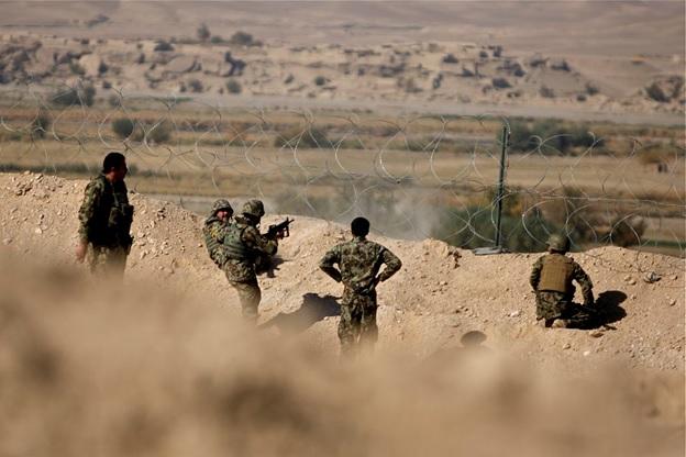 American War with Afghan Taliban