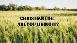 Beliefs Concerning Christian Life