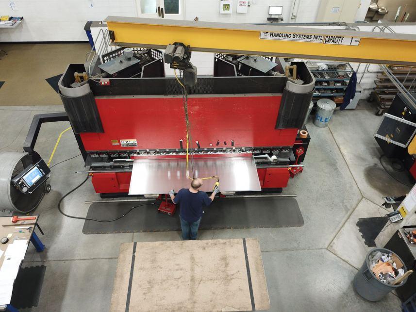 Precision sheet metal fabrication