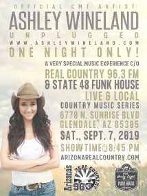 ASHLEY WINELAND LIVE AND LOCAL IN ARIZONA