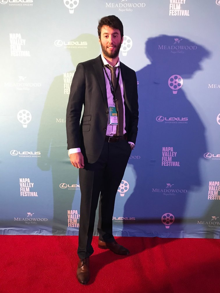 Producer Alon Juwal at the Napa Valley Film Festival
