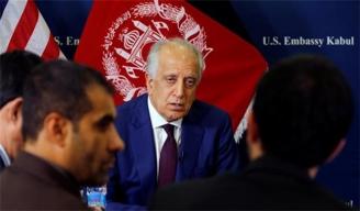 Zalmay Khalilzad in Afghanistan Peace Talks