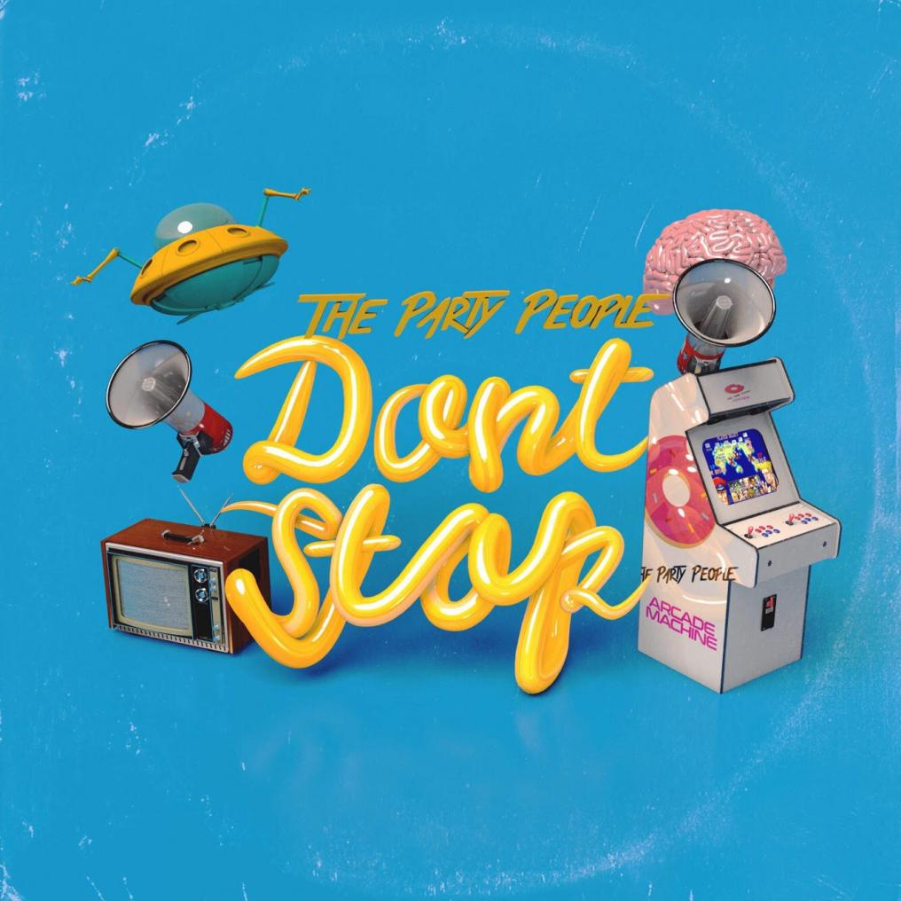 """Don't Stop"" Cover Art"