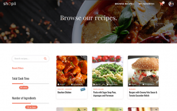 Updated Browse Recipes