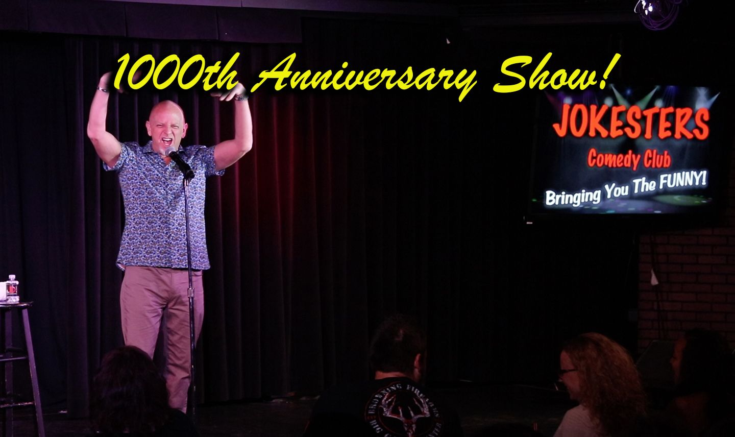 Don Barnhart Celebrates Jokesters 1000th Show Anniversary