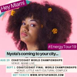 Nyota Parker - Coast 2 Coast - Miami
