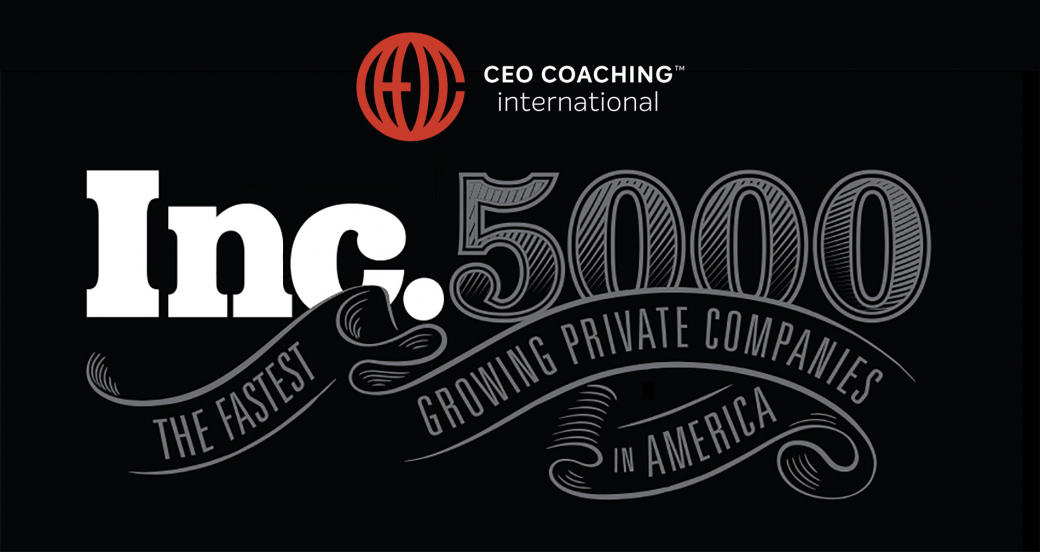 CEO Coaching International Congratulates Clients On Inc 5000 list
