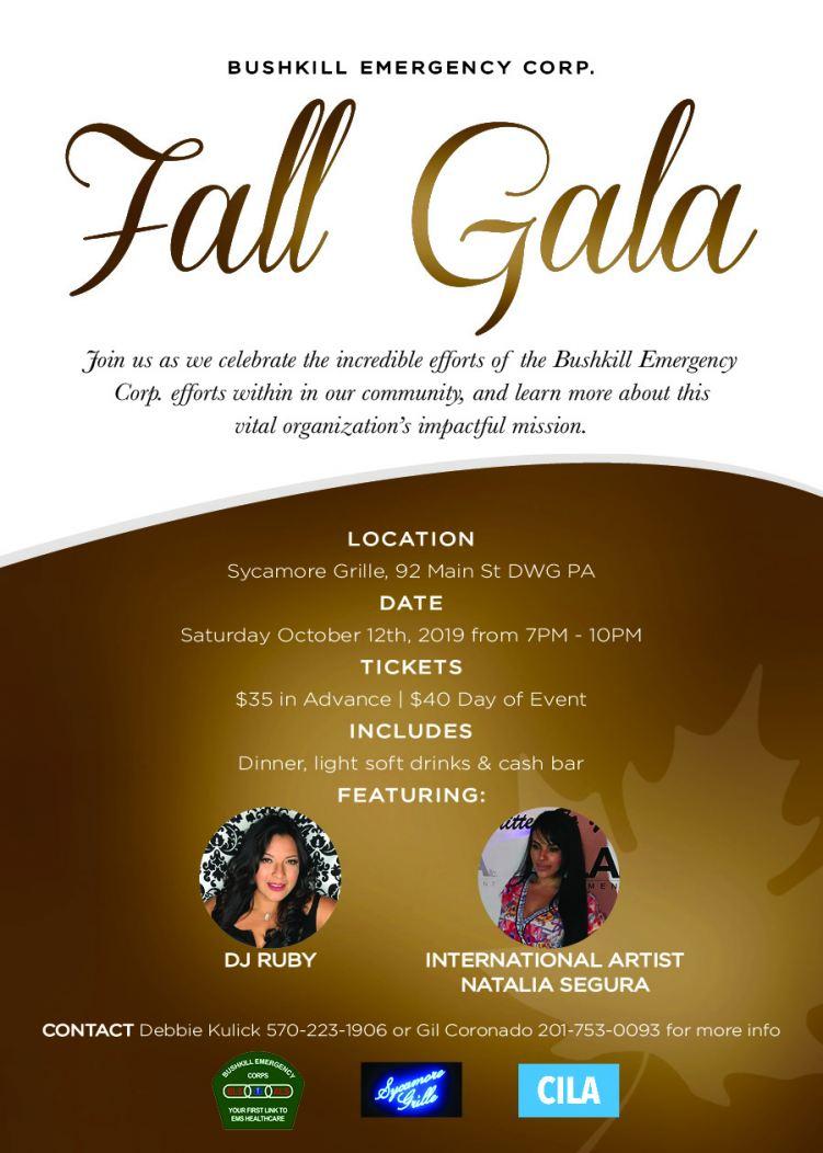 Bushkill Emergency Corps Fall Gala