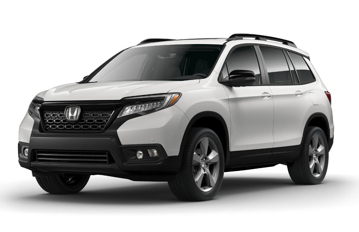 2019 Honda Passport - Touring Model - in Platinum White-Pearl