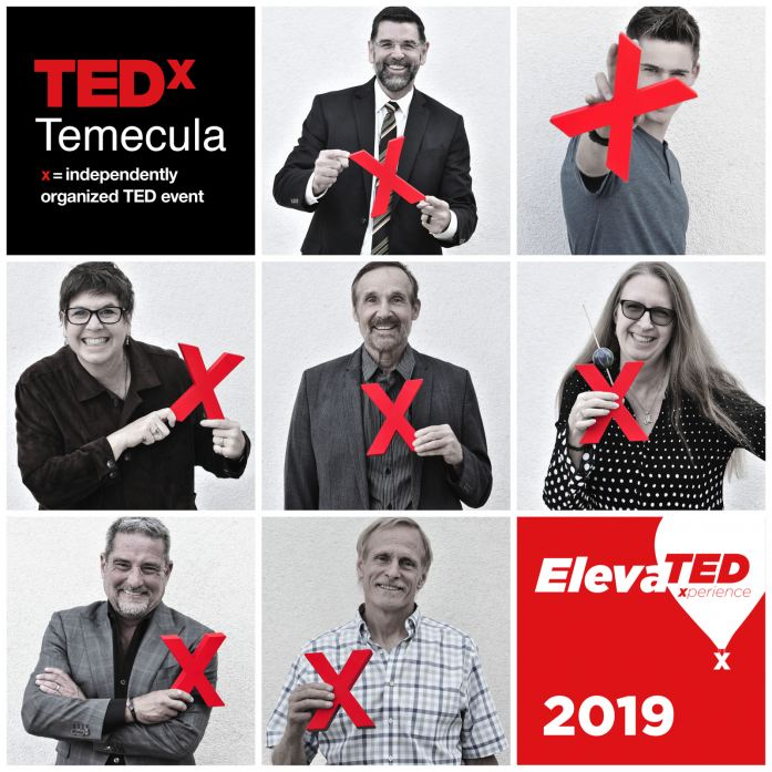 Meet the Speakers for the TEDxTemecula Conference 2019