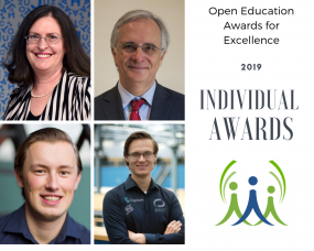 2019 Individual Award Recipients