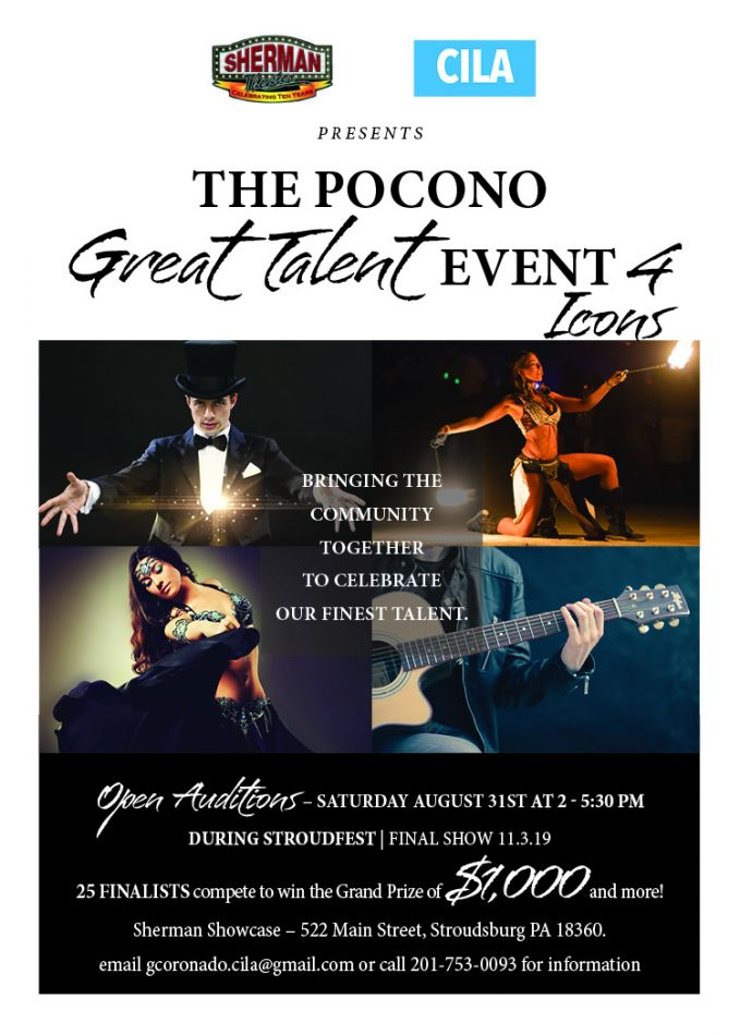 Pocono Great Talent Icon Event