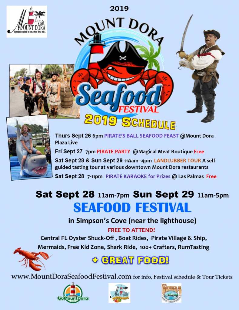Seafood Festival Poster 2019