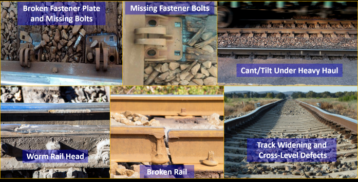 AVANTE System Quantifies Rail Defects with Geo-Tagged Images in Live Operation