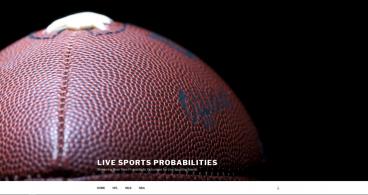 www.livesportsprobabilities.com