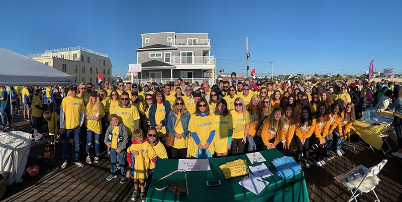HOPE Sheds Light drew nearly 3,000 people to its annual walk in Seaside Heights.