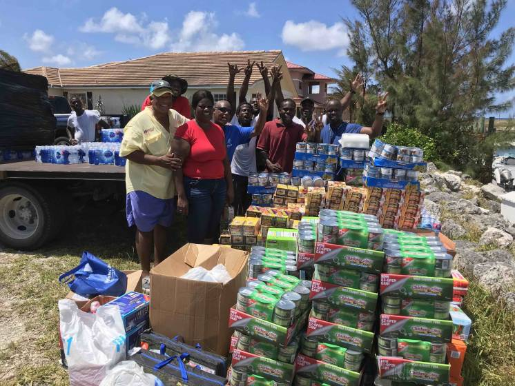 Supplies reach West End Bahamas
