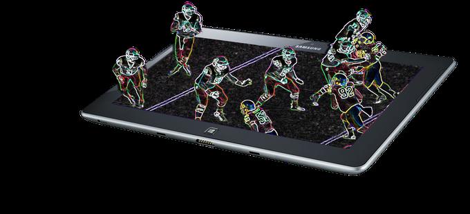 AR through devices