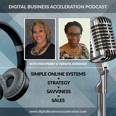 DBA-Podcast-with hosts Pam Perry and Vernita Sherman