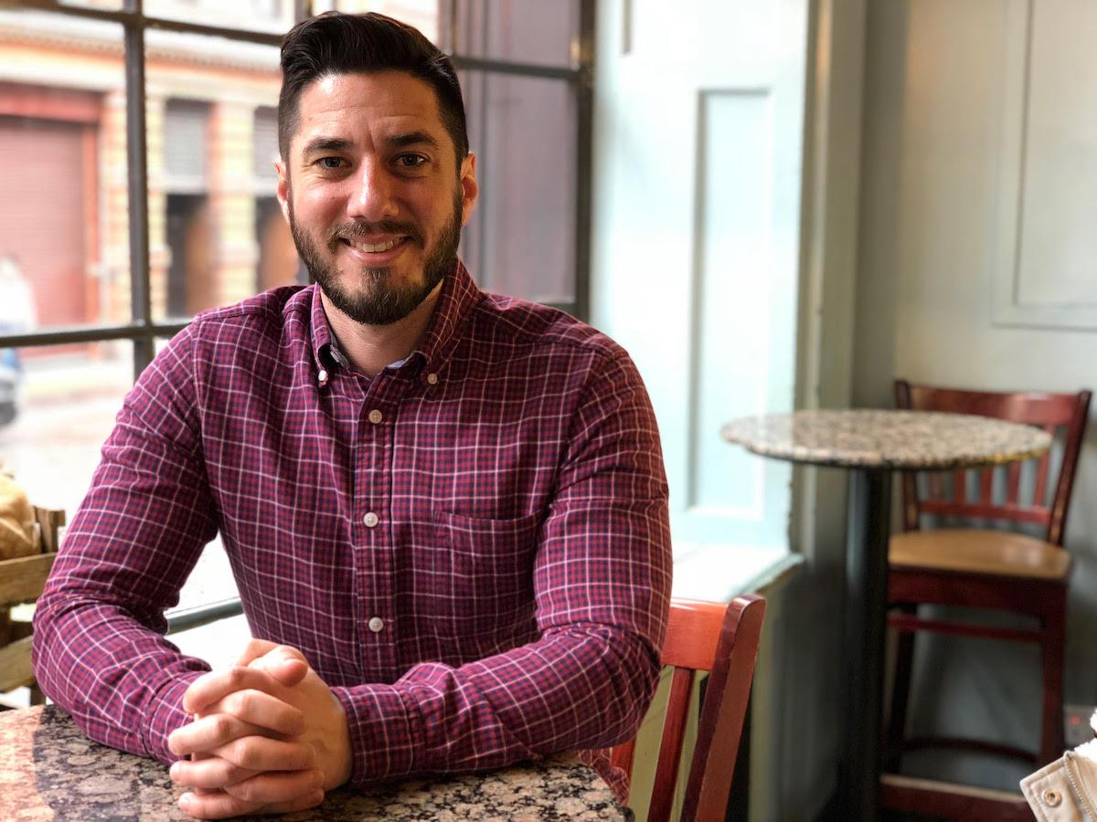 Typeset co-founder Dan Hatch