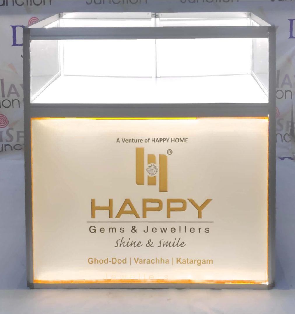 LED Display & Fascia Jewelry display table