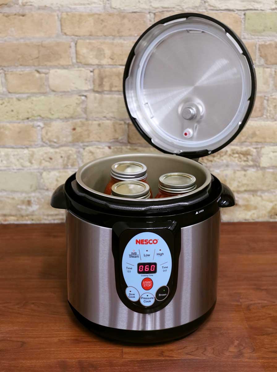 NESCO smart pressure canner