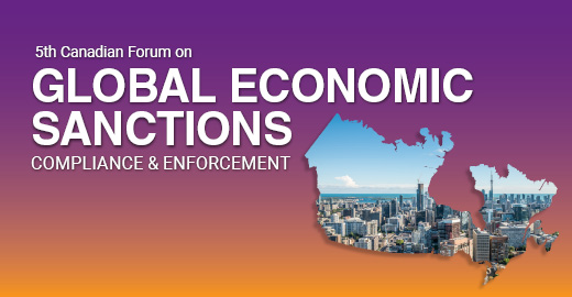 Global Economic Sanctions Forum   I   Oct. 2-3, 2019   I   Toronto, Canada