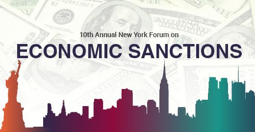 New York Economic Sanctions Forum    Dec. 10-11  I  New York City, NY