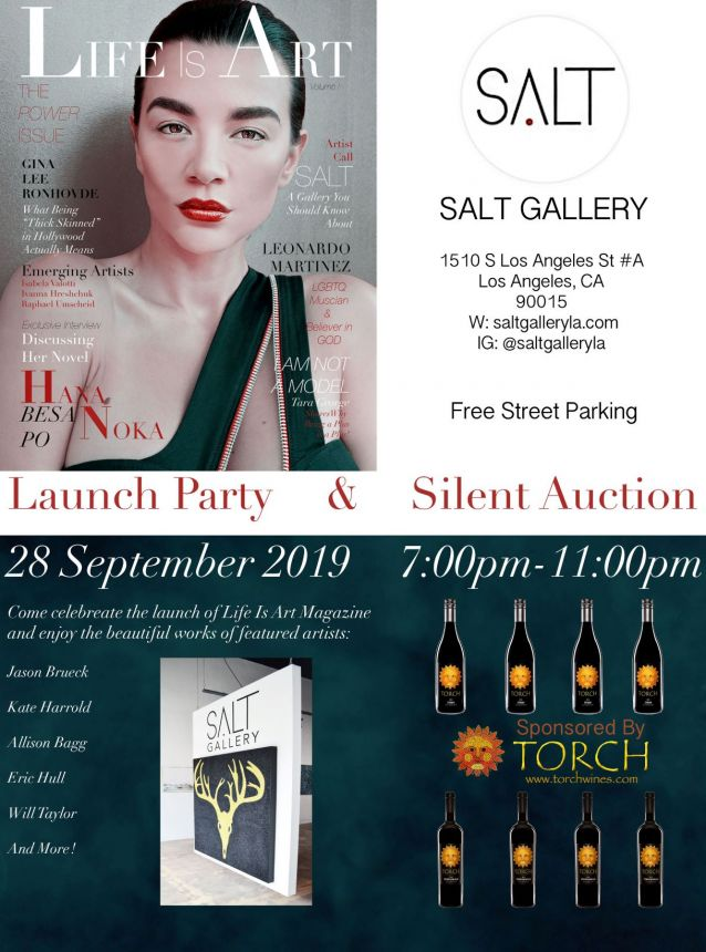Life is Art Launch Party & Silent Auction