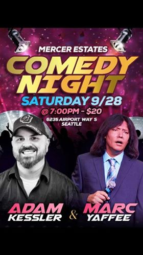Marc Yaffee from Dry Bar Comedy Comes to Seattle Sept 28