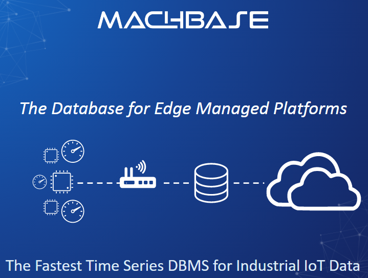 MACHBASE, The Database for Edge Managed Platforms