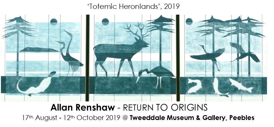 Return to Origins - Totemic Heronlands Triptych, 2019