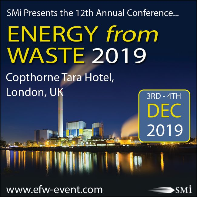 Energy from Waste conference 2019
