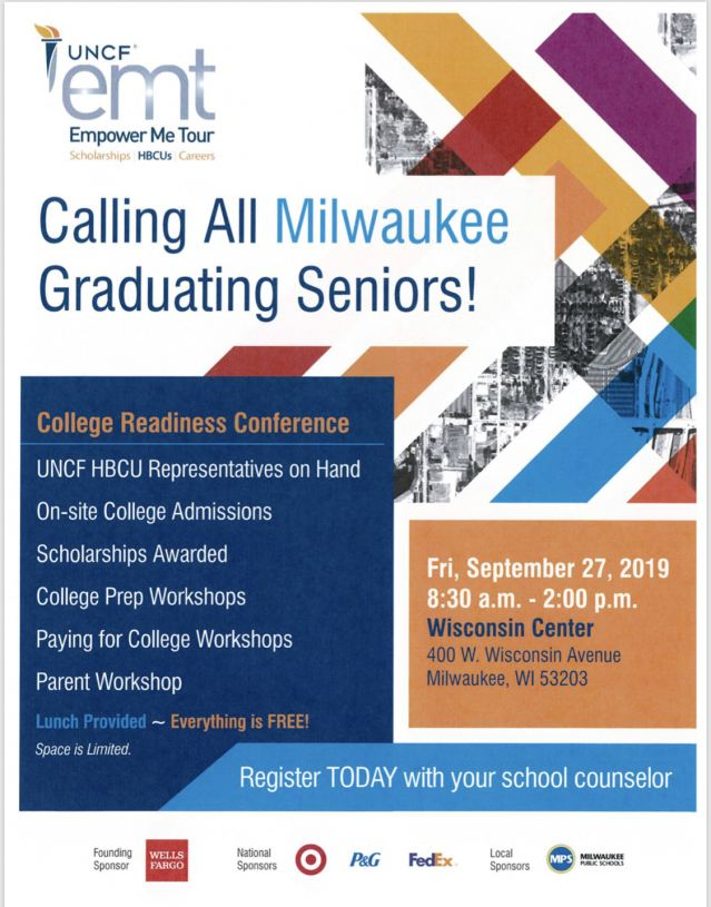 Milwaukee UNCF Flyer