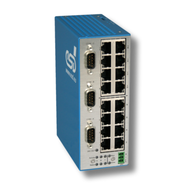 Netintegrator with COM-Server and Ethernet Switch