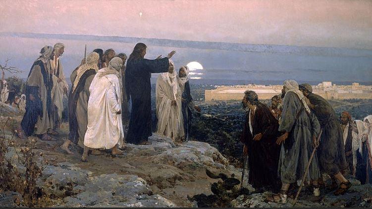 Wordpress Image - Jesus Teaching Prophecy