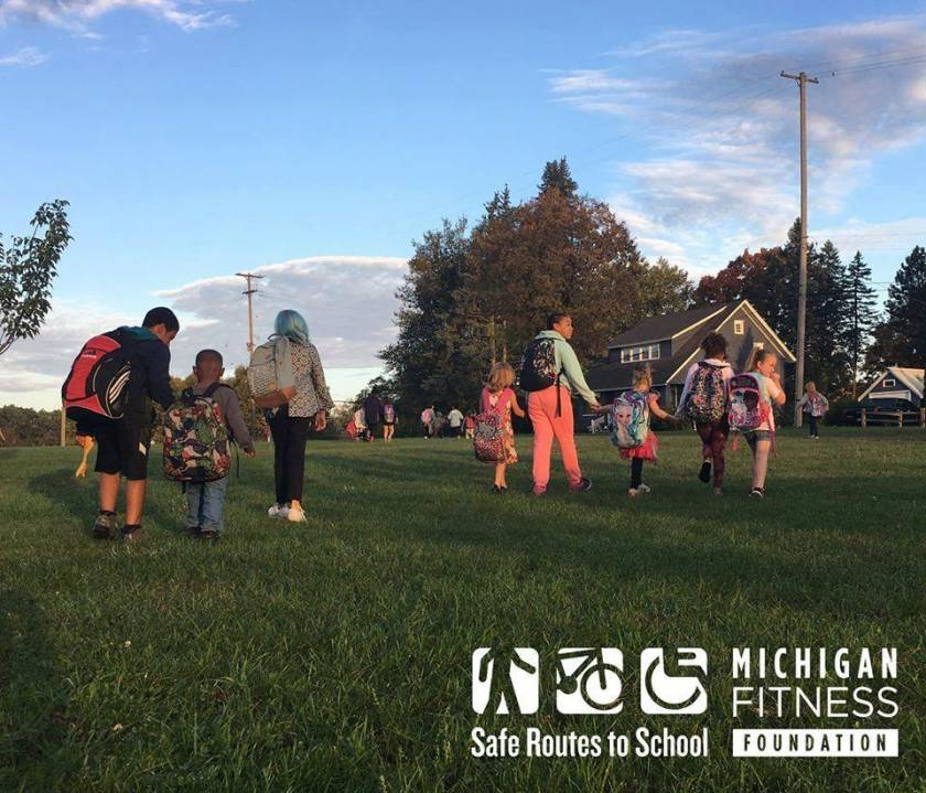 Michigan Fitness Foundation | Walk to School Day