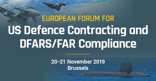 European Forum for US Defence Contracting and DFARS/FAR Compliance  I  Brussels