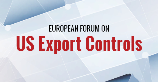 European Forum on US Export Controls  I  19 November  I  Brussels