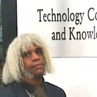 Marshall Barnes, R&D Eng outside a technology and commercialization department.