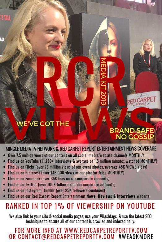 Media Kit for Red Carpet Report - Jan 2019