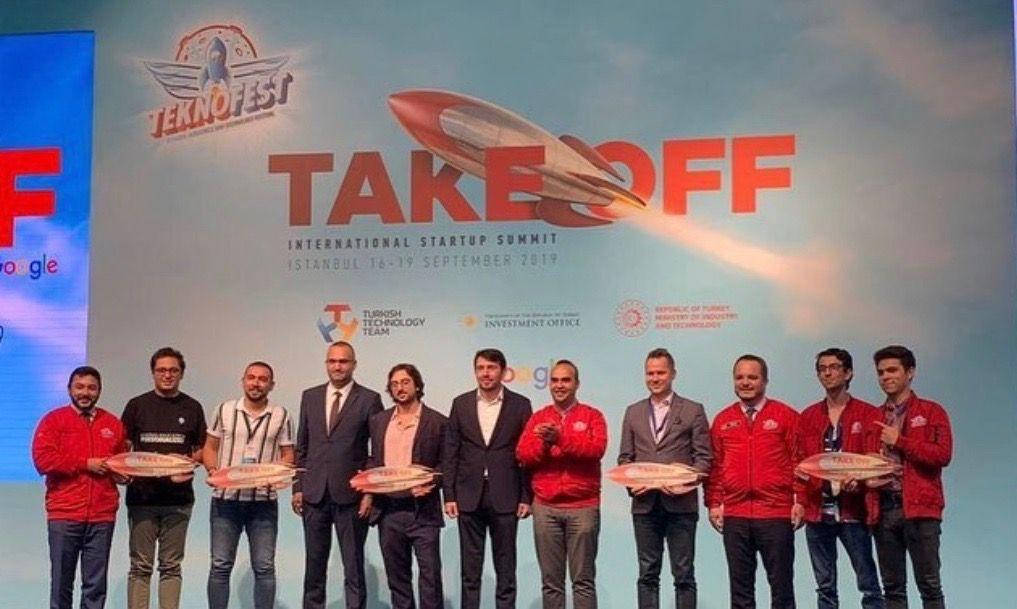 Winners of Take Off Istanbul International Startup Summit