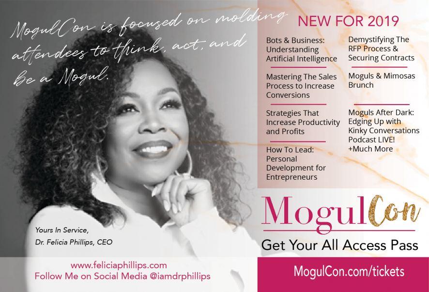 Felicia MogulCon Flyer