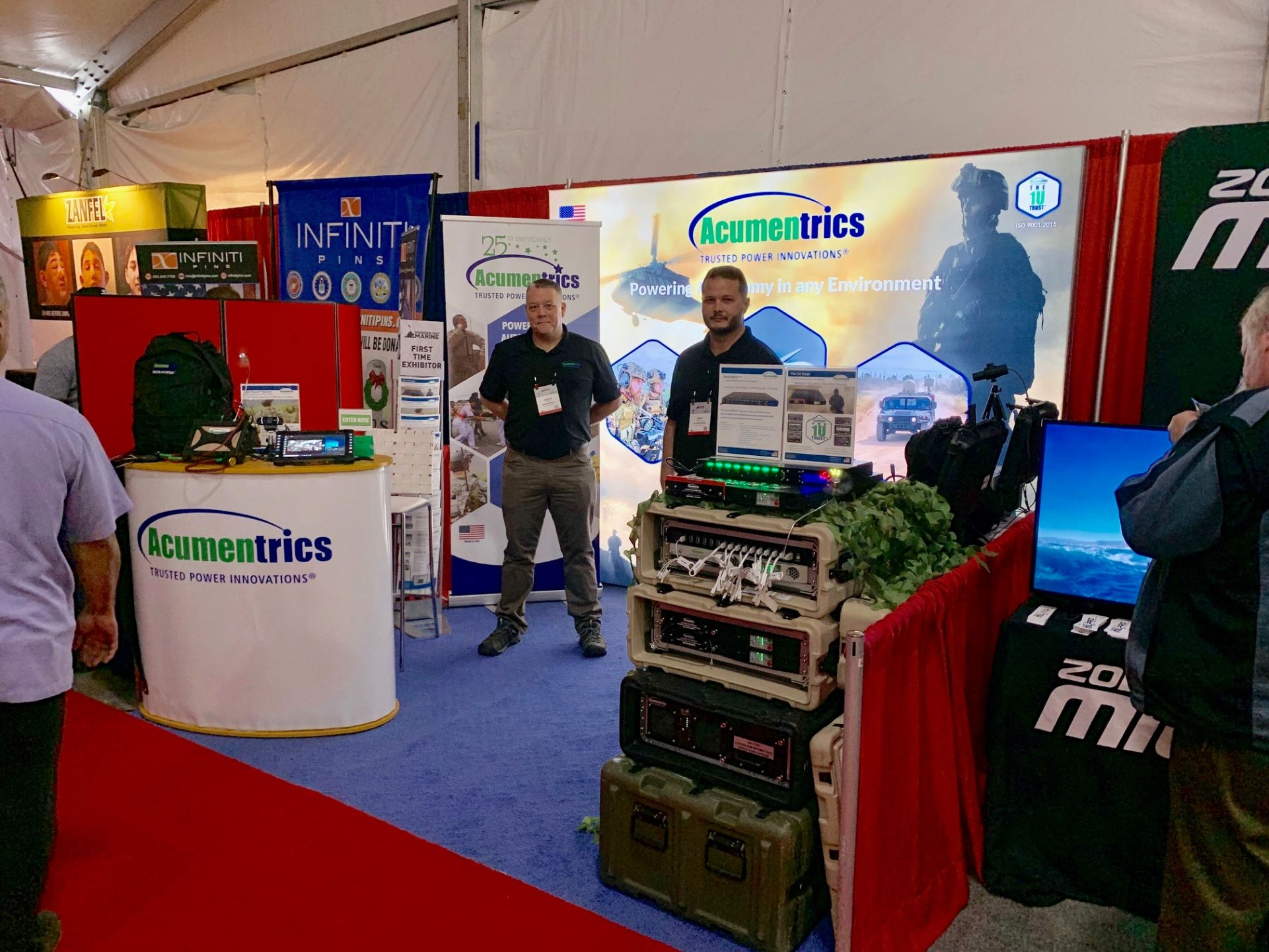 Acumentrics Presents Rugged Uninterruptible Power at Modern Day Marine 2019