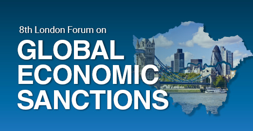 Global Economic Sanctions Forum   Nov. 19-20, 2019   I   London