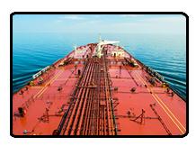 Oil Ship at Sea